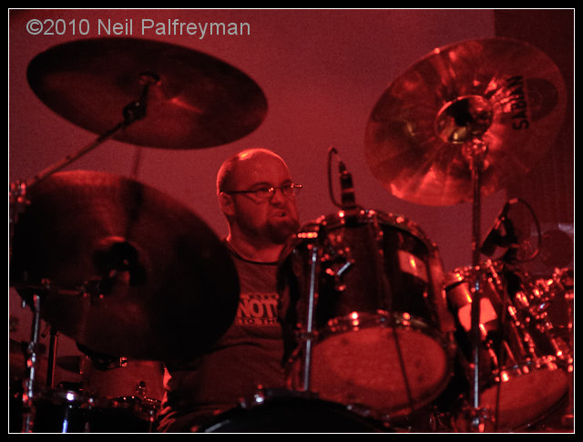 Donal Drumming in 2010